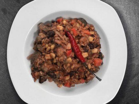 Chili con carne invriezen