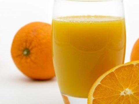 Sinaasappelsap invriezen