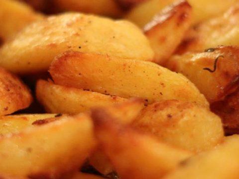 Gebakken aardappelen invriezen